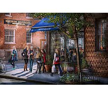 New York - Store - Greenwich Village - Jefferey's  Photographic Print