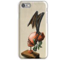 Clockwork Cthulhu Statuette iPhone Case/Skin