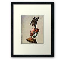 Clockwork Cthulhu Statuette Framed Print