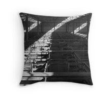 Dandenong Stockyards Throw Pillow