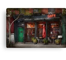 New York - Store - Greenwich Village - Sweet Life Cafe Canvas Print