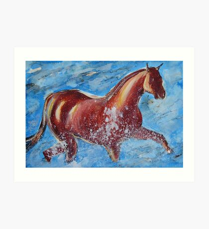 The Horse and the Sea Art Print