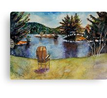 The Serenity Nature Can Give You Canvas Print