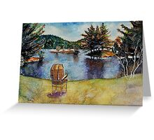 The Serenity Nature Can Give You Greeting Card