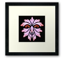 GREEN MAN 3 Framed Print