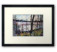 Northern Forest Tundra Framed Print