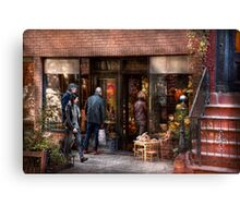 New York - Store - Greenwich Village - The gift shop  Canvas Print