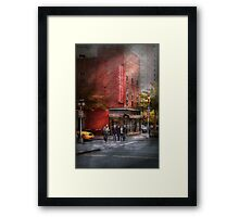 New York - Store - The old delicatessen Framed Print