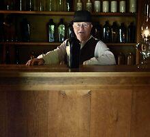 The bartender by Gisele Bedard