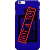 A Boombox is not a toy iPhone Case/Skin