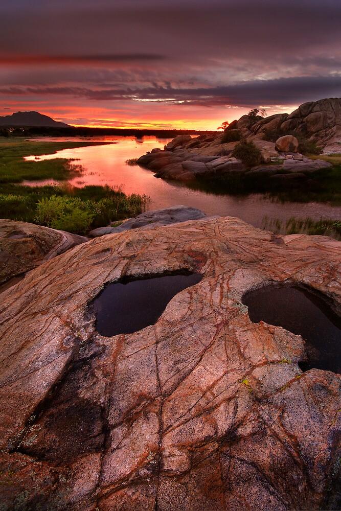 Sunset Dells by Bob Larson