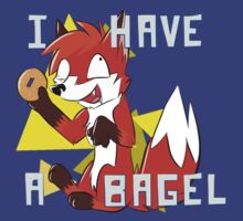 I HAVE A BAGEL by AsianEevee