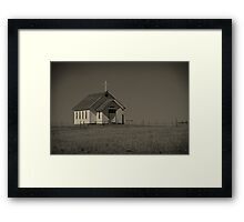 Prairie Prayers Framed Print