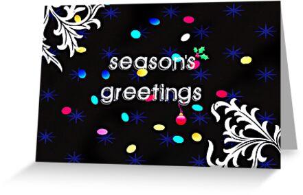 Seasons Greetings - Greeting Card 4 by Scott Mitchell