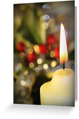 Christmas Candle by Amy Dee