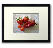 Bumper Crop! Framed Print