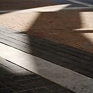 curve and shadow  by richard  webb