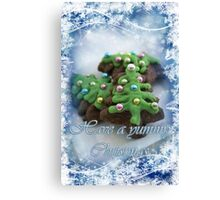 Yummy Christmas Canvas Print