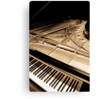 Grand Concert Piano Canvas Print