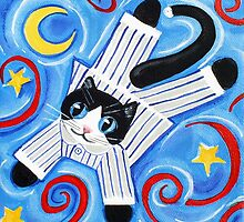 Cat's Pyjamas by Anni Morris