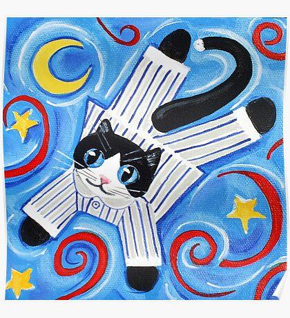 Cat's Pyjamas Poster