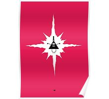 Bill Cipher & the End of the World Poster