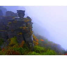 Mysterious Mountain Photographic Print