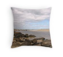 Mouth of the Margaret River  Throw Pillow