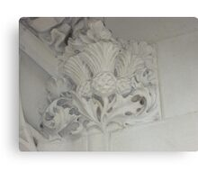 Thistle In Plaster Detail, Supreme Court, London Canvas Print