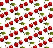 Juicy Cherries by cerio