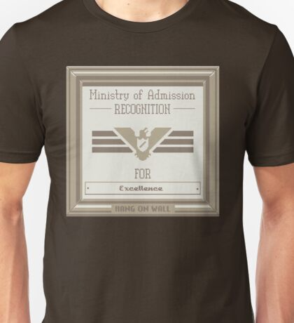 Papers Please Admission Unisex T-Shirt