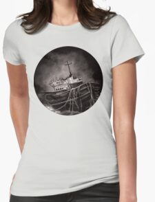 Dark Voyage Womens Fitted T-Shirt