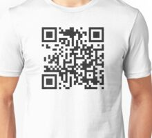 QR Code Quote - Put Down Your Phone Unisex T-Shirt