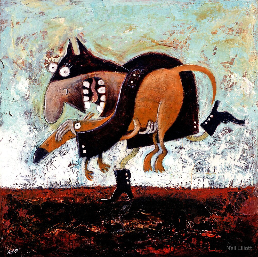 On th run by Neil Elliott