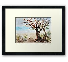 View to ocean in front of me? Framed Print