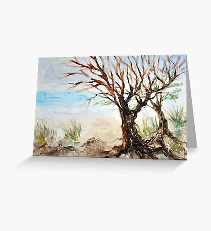 View to ocean in front of me? Greeting Card