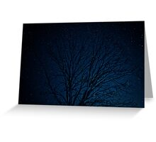 Sky of Abyss Greeting Card