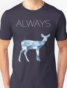 Harry Potter Always geometric doe patronus Unisex T-Shirt