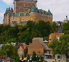 Vieux Quebec by Paul Weston
