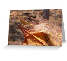 Frilled-necked Lizard Greeting Card