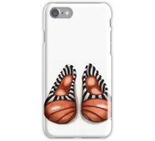Bronze, black and white pumps iPhone Case/Skin
