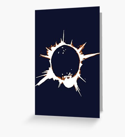 Heroes Eclipse  Greeting Card
