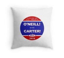 O'Neill - Carter for President Throw Pillow