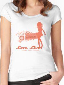 Love Live! - Honoka Kosaka Women's Fitted Scoop T-Shirt