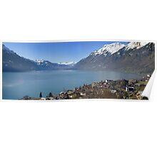 Lake Brienz, Brienz, Switzerland Poster