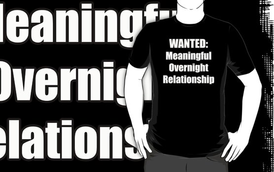 Wanted - Meaningful Overnight Relationship by marinasinger