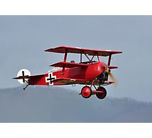 Fokker Triplane at Omaka Photographic Print