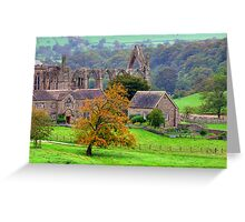 Bolton Abbey  - HDR Greeting Card