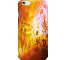 EQUINES IN FLOWERS. iPhone Case/Skin