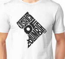 District of Columbia Black Unisex T-Shirt